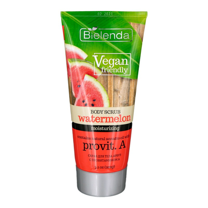 bielenda body scrub watermelon