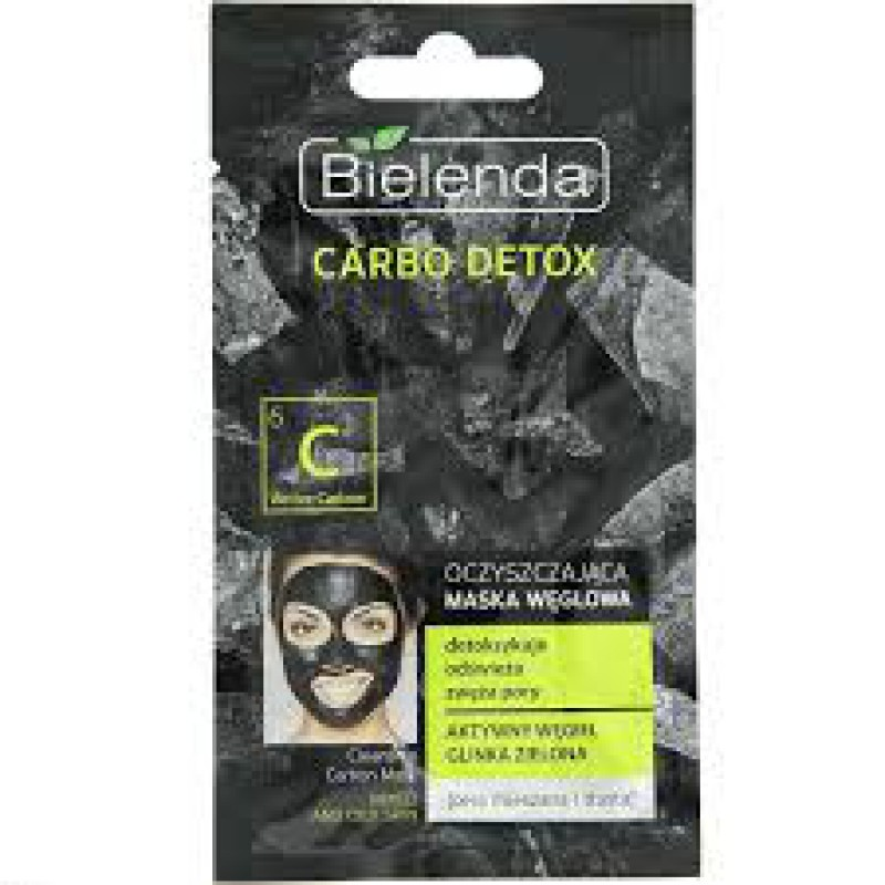 Bielenda Carbo Detox Cleansing Masque for Mixed and Oily Skin