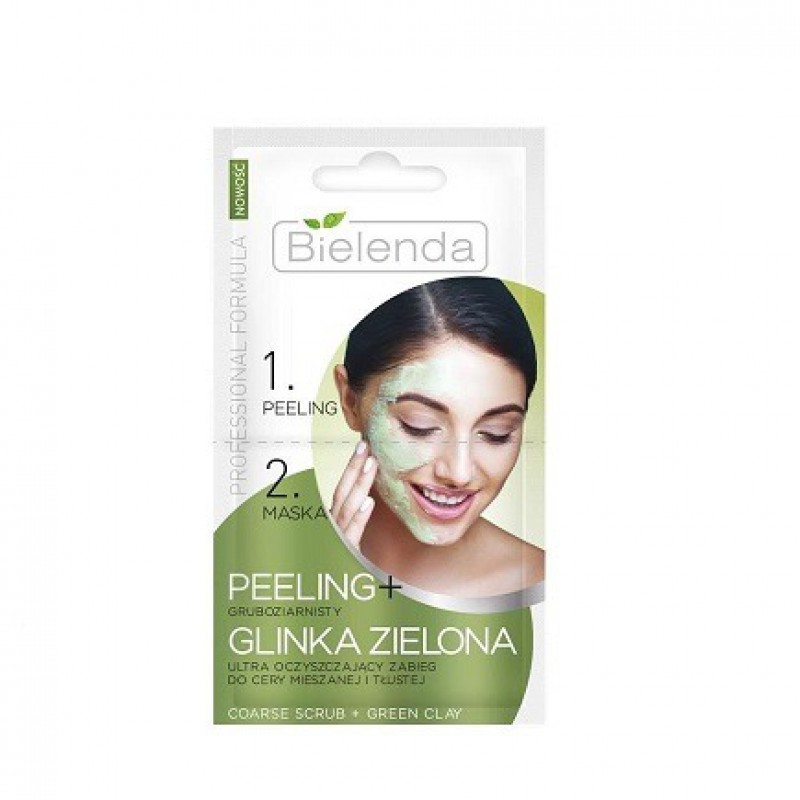 Bielenda Purifying Facial Masks For Oily & Combinations Skin