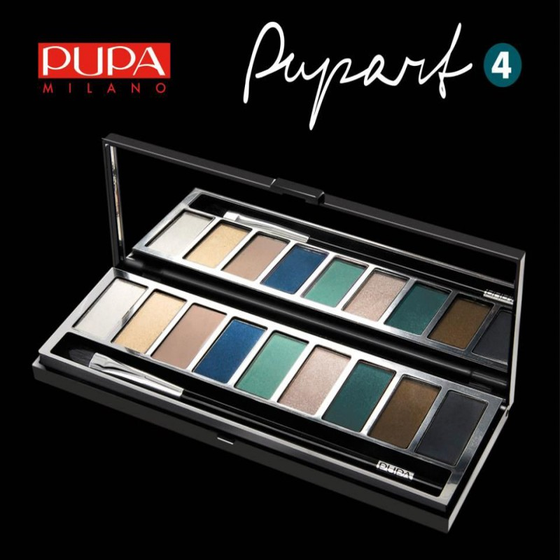 pupa pupart ayeshadow palette 04