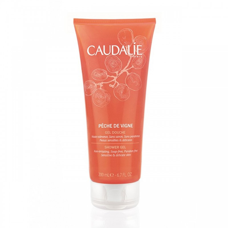 Caudalie Peaches Shower Gel 200ml